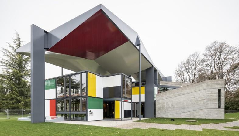 Wiedereroeffnung des Pavillons Le Corbusier in Zuerich mit ...