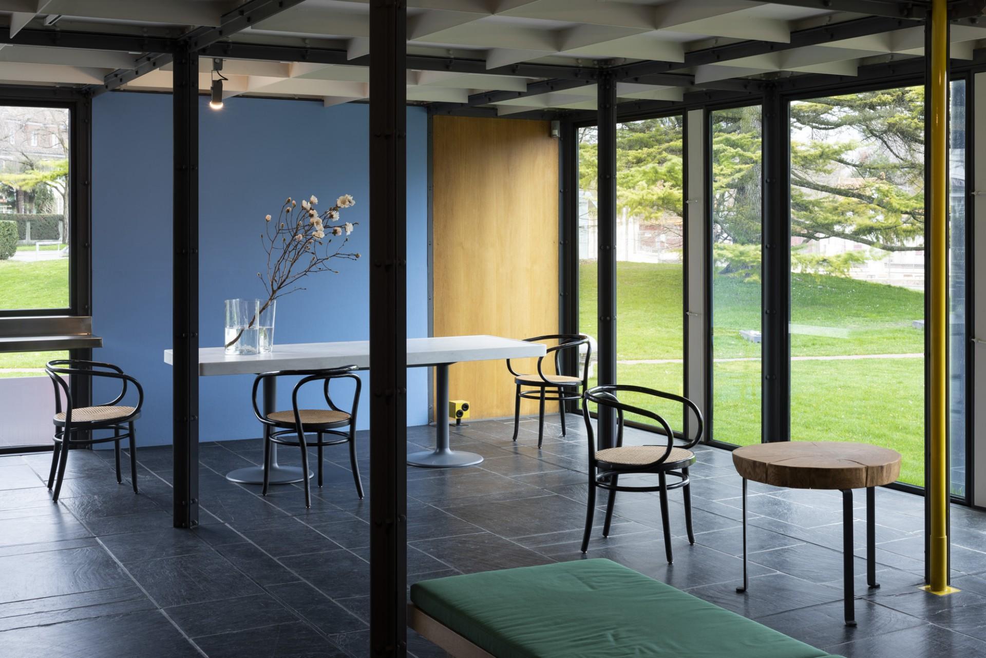 Wiedereroeffnung Des Pavillons Le Corbusier In Zuerich Mit Der