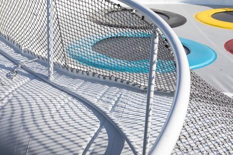 Die ephemeren Architekturen von WAO - Lily für Futuroscope Poitiers