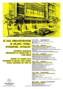 Kongress über die Kinos von Mailand
