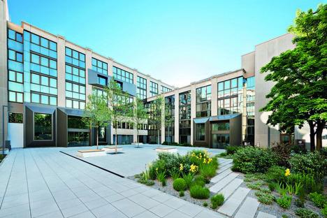 Oliv Architekten Revitalisierung des Bürogebäudes Peak in München