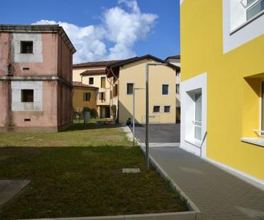 Valle Architetti Associati Architektur im vielschichtigen Umfeld, neues Bürgerzentrum von Maniago