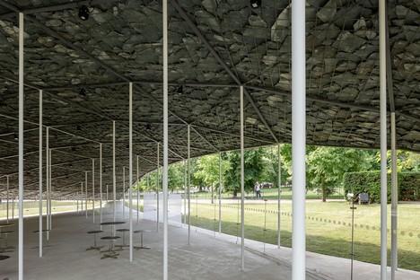 Serpentine Pavilion Eröffnung des Projekts von Junya Ishigami