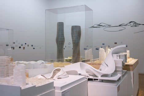 Die Stadt der Zukunft von MAD zu sehen im Centre Pompidou von Paris