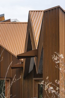Dow Jones Architects Maggie's Cancer Centre im Velindre Hospital von Cardiff