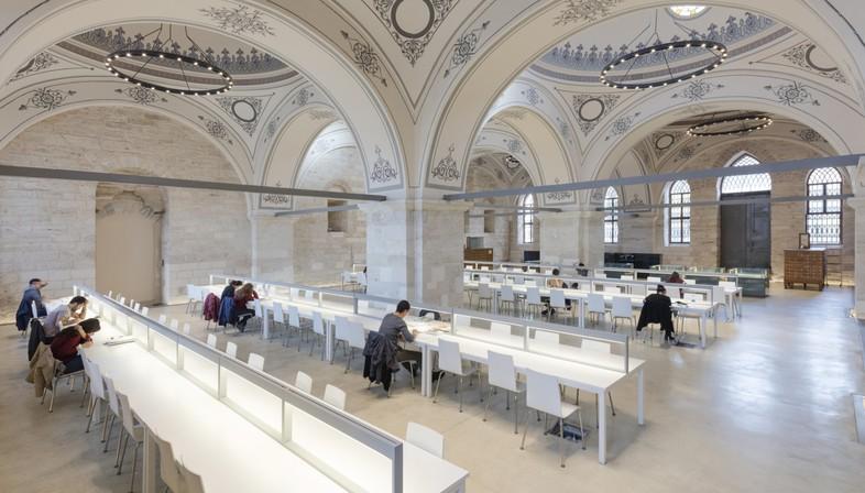 Tabanlioglu Architects Beyazit State Library Istanbul<br />