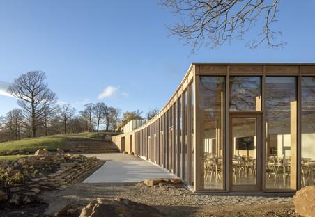 Feilden Fowles Architects Besucherzentrum im Skulpturenpark Yorkshire
