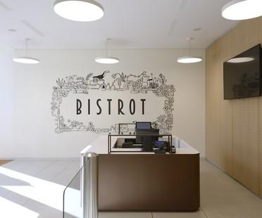 Cino Zucchi Architetti und RGAstudio für Bistro Lavazza Torino<br />