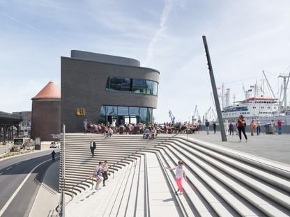 Zaha Hadid Architects Niederhafen River Promenade Hamburg<br />