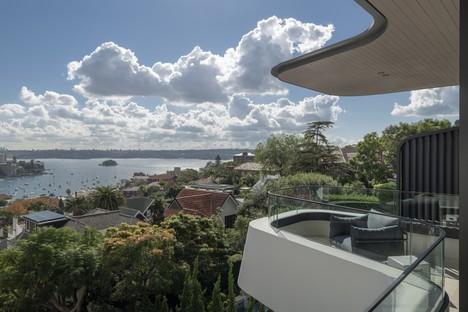 Luigi Rosselli Architects Hill House ein Aussichtspunkt mit Blick auf Sydney