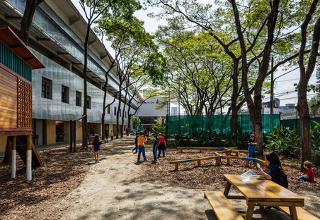 Andrade Morettin Arquitetos  + GOOA Neuer Beacon School Campus  São Paulo - Brasilien