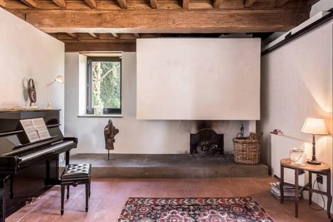 Pierattelli Architetture Interior Design eines ehemaligen Bauernhauses in der Toskana