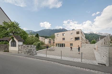 Feld72 Wohnanlage Maierhof Wohnen mit Bergblick