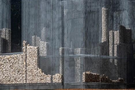 Edoardo Tresoldi Simbiosi ortsspezifisches Kunstwerk für Arte Sella - Dolomiti Trentino