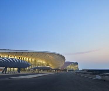 Eröffnung des Daxing International Airport in Peking nach dem Entwurf von Zaha Hadid Architects