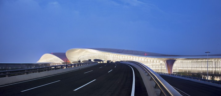 Eröffnung des Daxing International Airport in Peking nach dem Entwurf von Zaha Hadid Architects