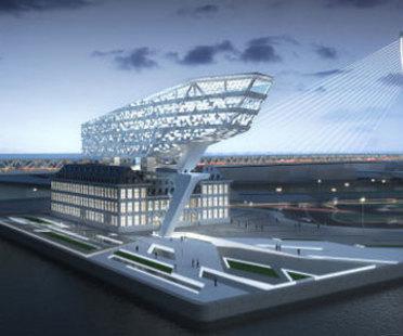 Port House, Antwerpen (Belgien) - Zaha Hadid