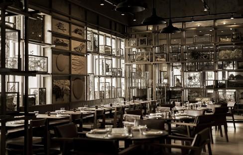Tzuco ein Restaurant für Carlos Gaytán in Chicago, von Cadena Concept Design