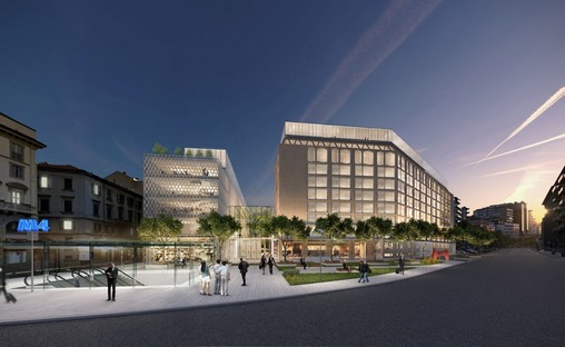 SOM Skidmore Owings & Merrill saniert den Allianz-Komplex von Gio Ponti