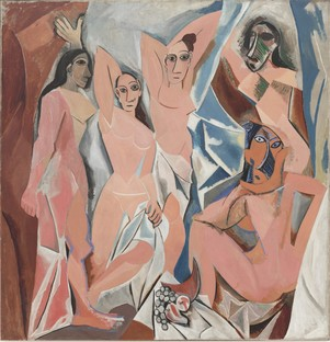 Pablo Picasso. Les Demoiselles d'Avignon. 1907. The Museum of Modern Art, NY