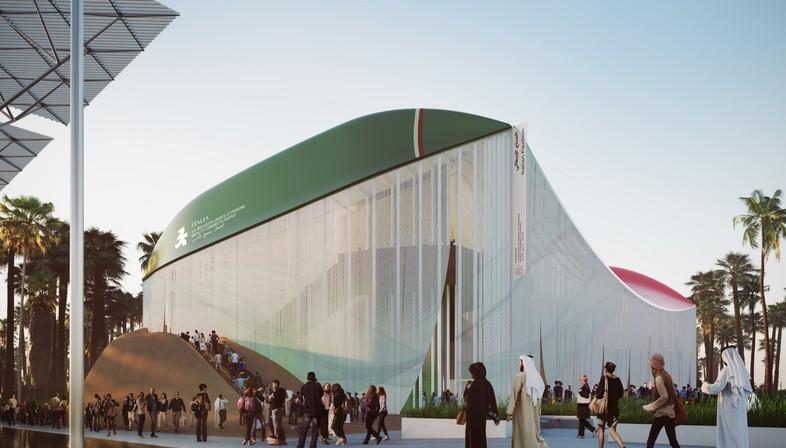 Beauty connects people, der italienische Pavillon für Expo Dubai 2020