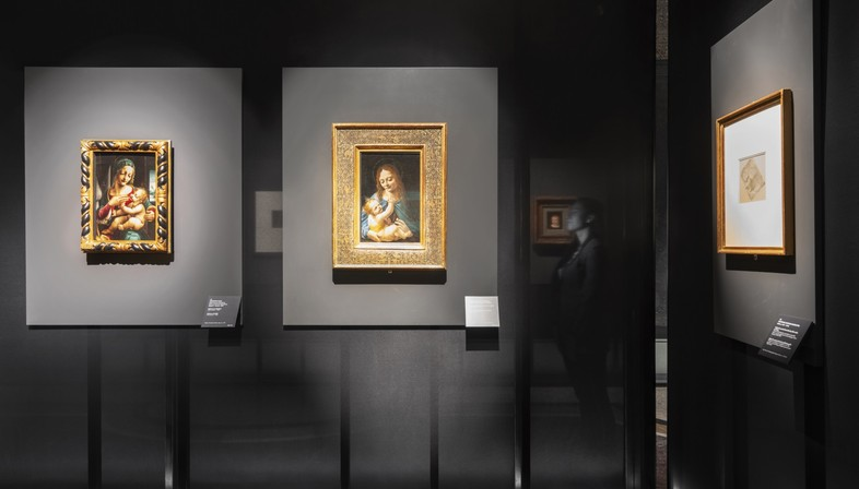 Migliore+Servetto architects Gestaltung der Ausstellung Leonardo e la Madonna Litta in Mailand