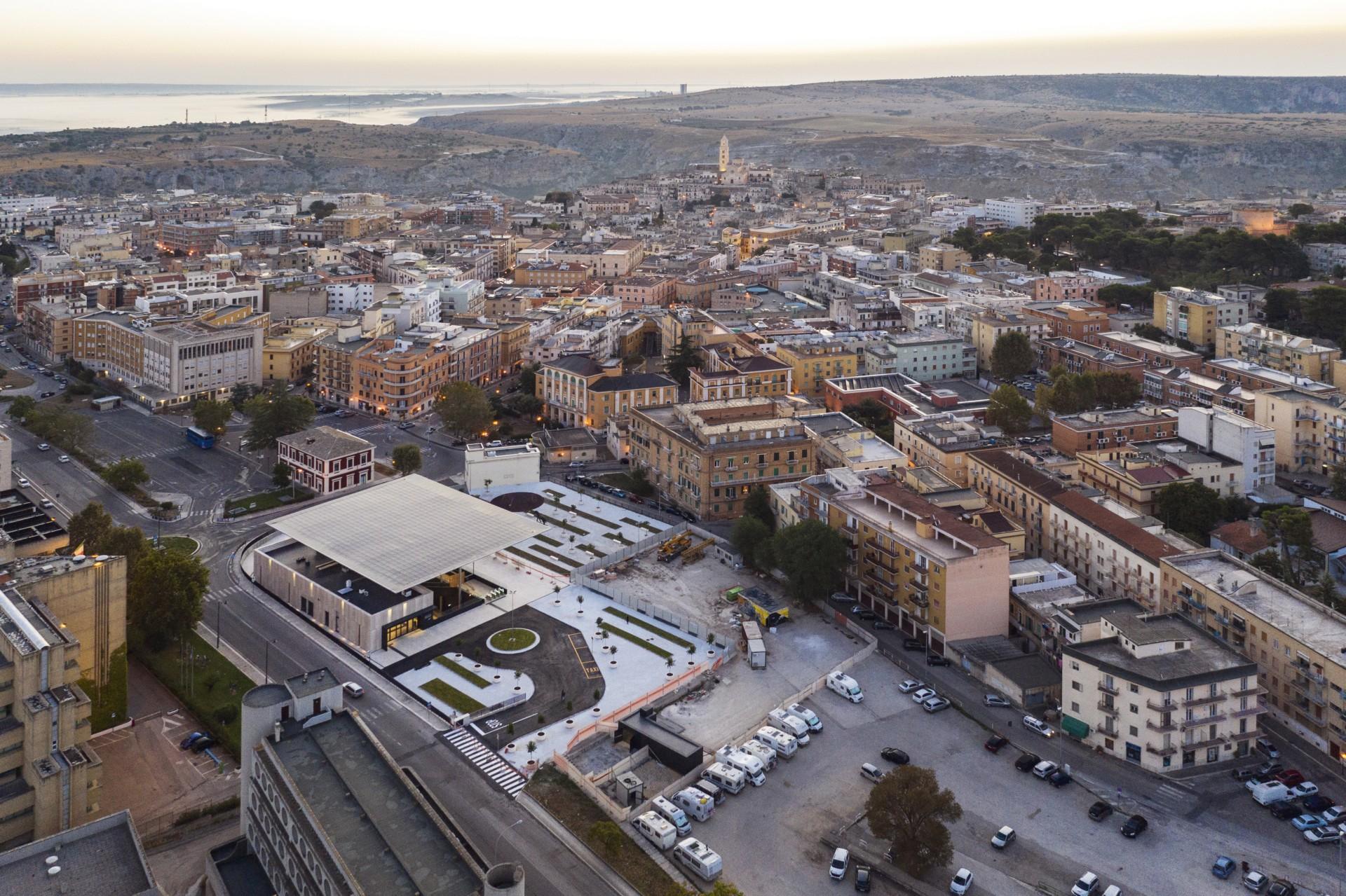 Stefano Boeri Architetti Matera Centrale neuer Bahnhof FAL