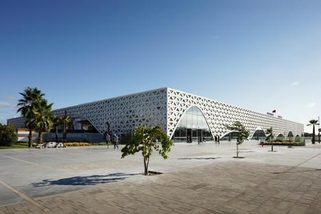 Silvio d'Ascia Architecture Bahnhof von Kenitra Marokko