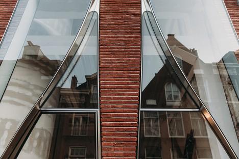 UNStudio The Looking Glass die Architektur einer Fassade für die Mode in Amsterdam