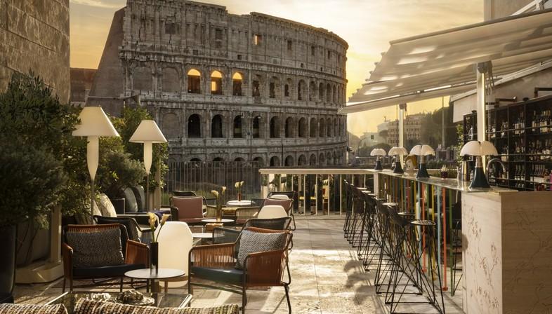 Loto Ad Project Giorgia Dennerlein Interior für Manfredi Fine Hotel Collection Rom
