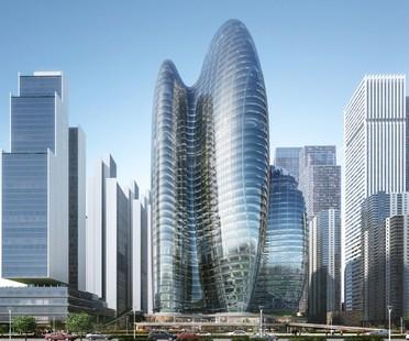 Zaha Hadid Architects Headquarter von OPPO in Shenzhen