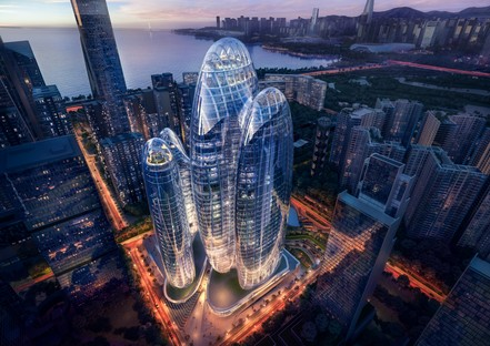Zaha Hadid Architects Headquarter von OPPO in Shenzhen