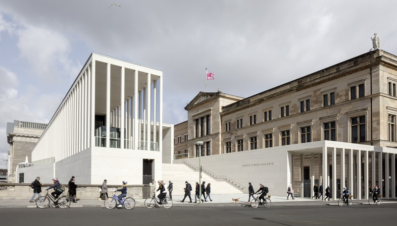 Ausstellung DAM Preis 2020 mit James Simon Galerie von David Chipperfield Architects als Gewinner