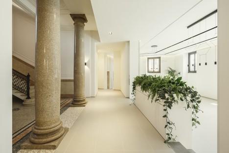 Studio Beretta Associati und Lombardini22 Bürogebäude, eine Geschichte der urbanen Sanierung