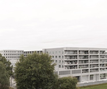KAAN Architecten eklektisches Gebäude in Bottière Chénaie Nantes
