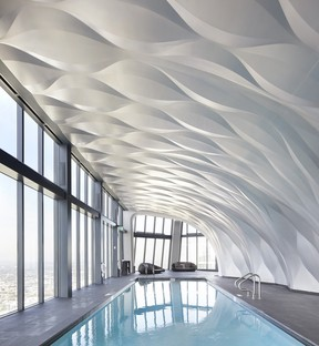 Zaha Hadid Architects One Thousand Museum ein Wolkenkratzer mit Exoskelett in Miami
