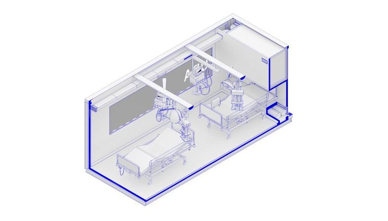 Die Architektur im Einsatz für den Notfall Covid-19