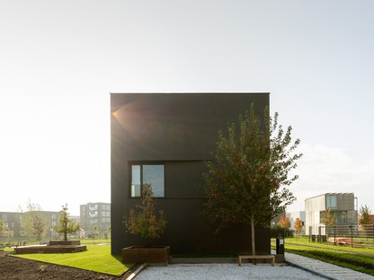 Pasel Künzel Architects Projekt K41 Black Diamond Wohnen in einem Kubus in Utrecht