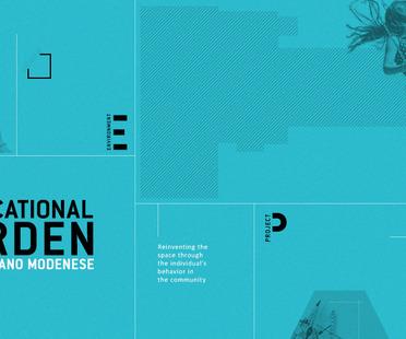 NextLandmark International Contest die neunte und neue Ausgabe: ein pädagogischer Garten in Fiorano Modenese