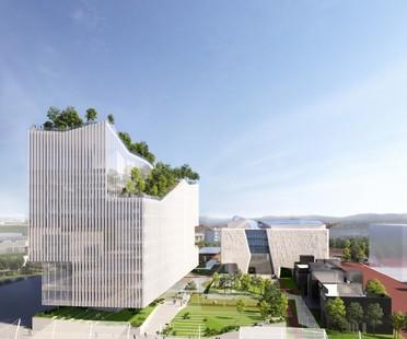 Piuarch Campus Human Technopole neues Forschungsgebäude auf dem ehemaligen Gelände von Expo Milano