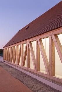 Lemoal Lemoal Architectes Neue Anlagen für Garden Tennis in Cabourg