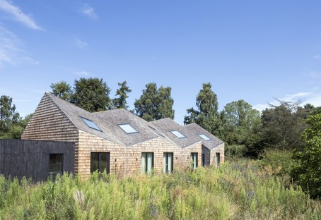 Blee Halligan Architects von Scheune zu B&B, Five Acre Barn in Suffolk
