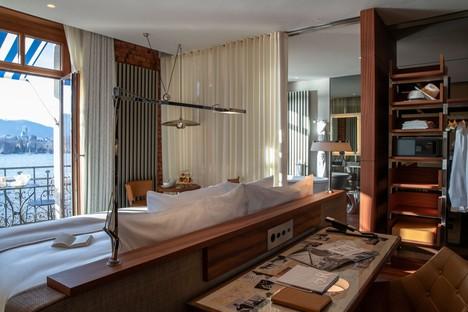 Philippe Starck Restyling La Réserve Eden au Lac Zurich