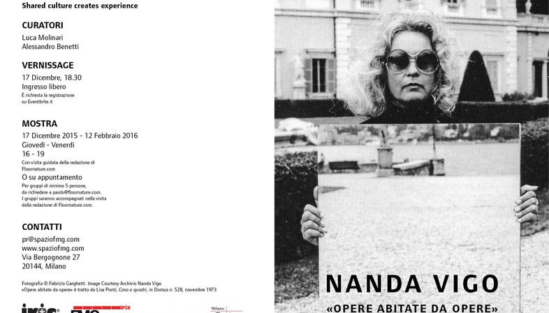 Nachruf auf Nanda Vigo, die Gestalterin und Künstlerin des Lichts