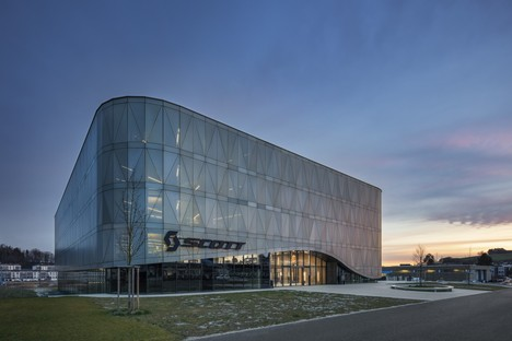 IttenBrechbühl Architekten Scott Sports Headquarter Givisiez Schweiz