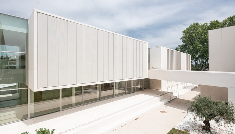 Panorama Architecture MMSH Forschungscampus Aix-en-Provence