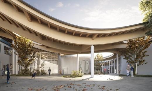 Mario Cucinella Architects neuer Schulpol Campus KID in San Lazzaro di Savena