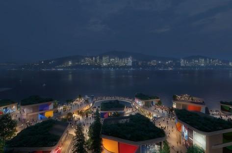 UNStudio ein nachhaltiger Masterplan für Gyeongdo Island South Korea