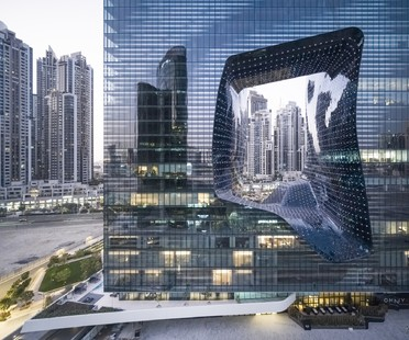 Zaha Hadid Architects ME Dubai Hotel und The Opus in Dubai