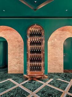 COLLIDANIELARCHITETTO eklektisches Interior Design in der Altstadt von Rom VyTA Farnese
